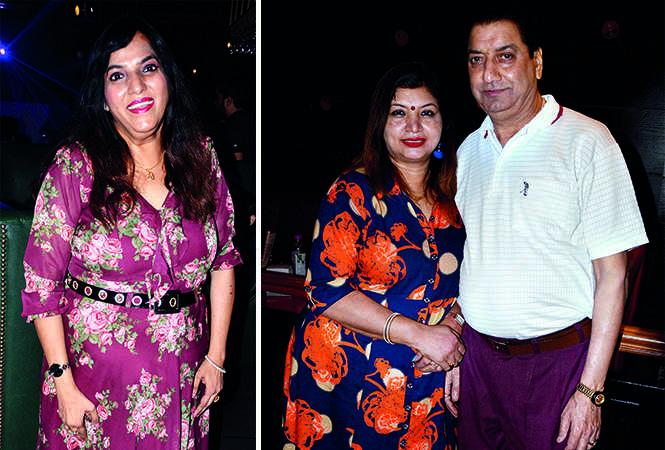 (L) Chhavi Saraf (R) Kanchan and Vijay Singh (BCCL/ IB Singh)