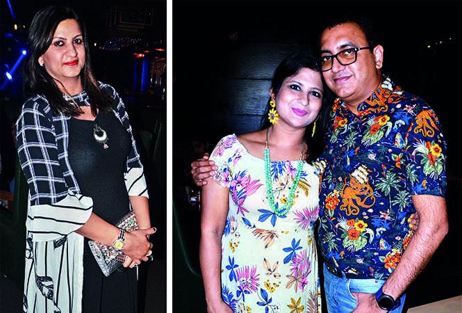 (L) Kiran Jaishinghani (R) Kratika and Amit Sarogi (BCCL/ IB Singh)