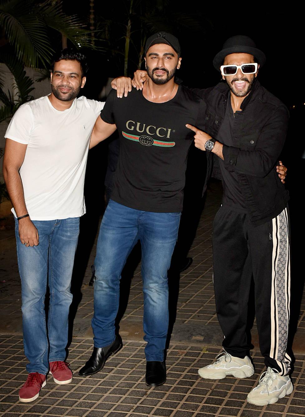 Arjun movie screening 12