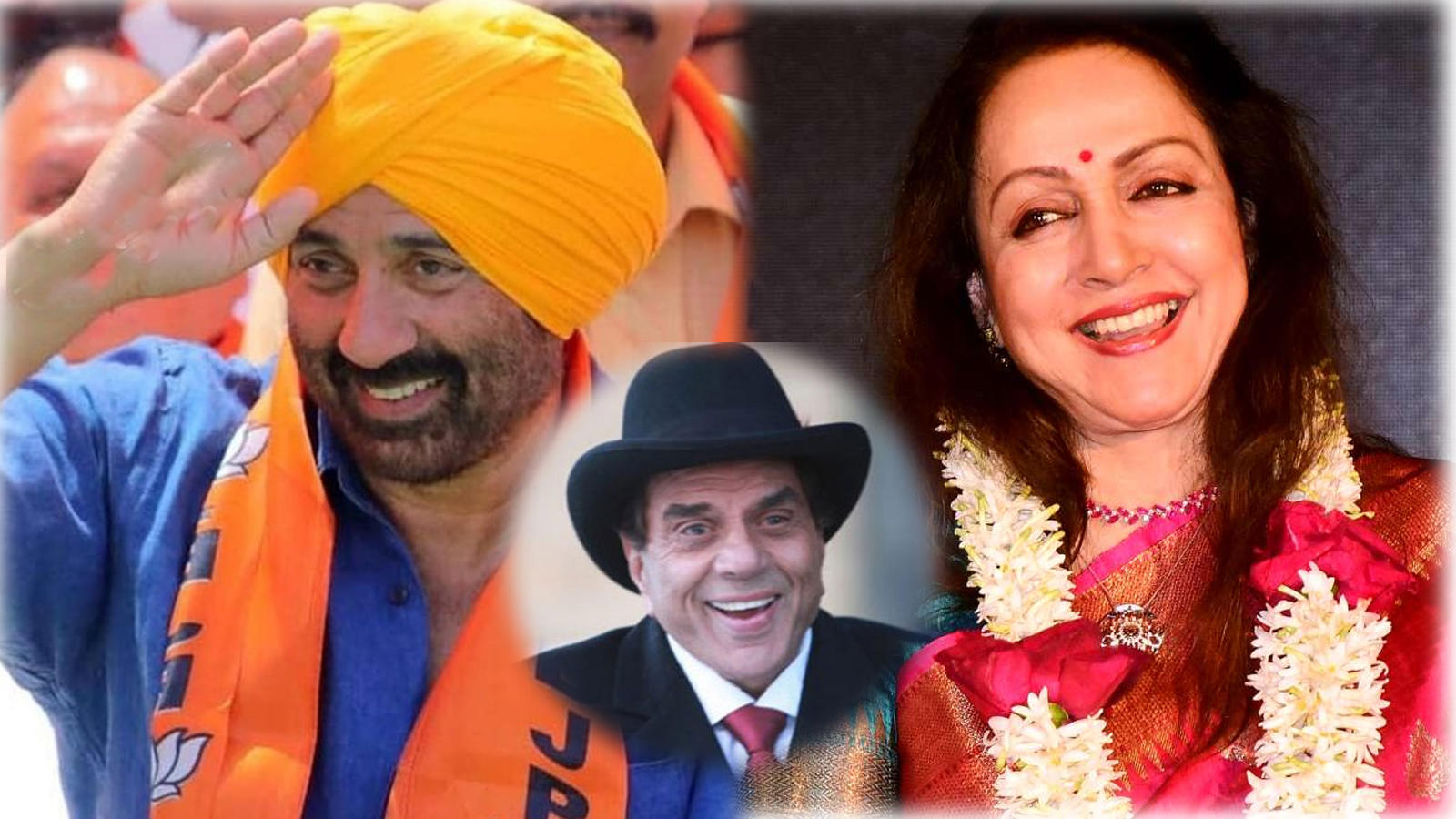 Dharmendra congratulates son Sunny Deol and wife Hema Malini over their win