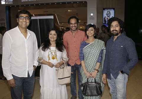 Kaushik Sen,Reshmi Sen,Ritwick Chakraborty, Aparajita Ghosh Das Chakraborty, Riddhi Sen