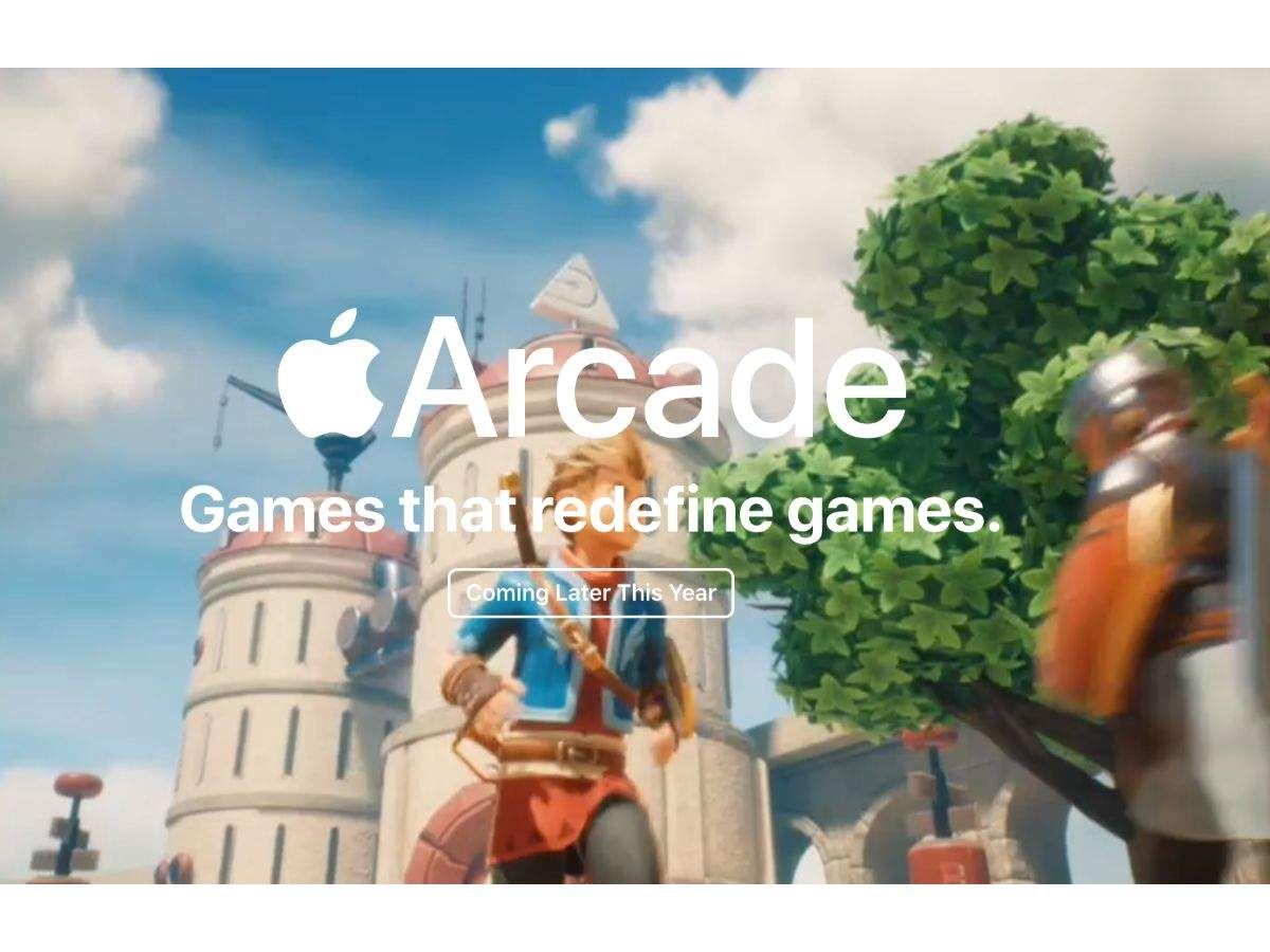 Emphasis on gaming and Apple Arcade