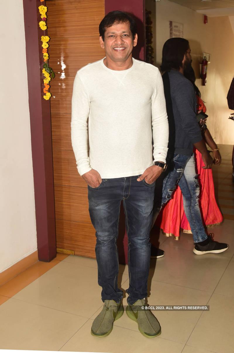 Celebs attend muhurat of Malayalam film 'Garuda Chakram'