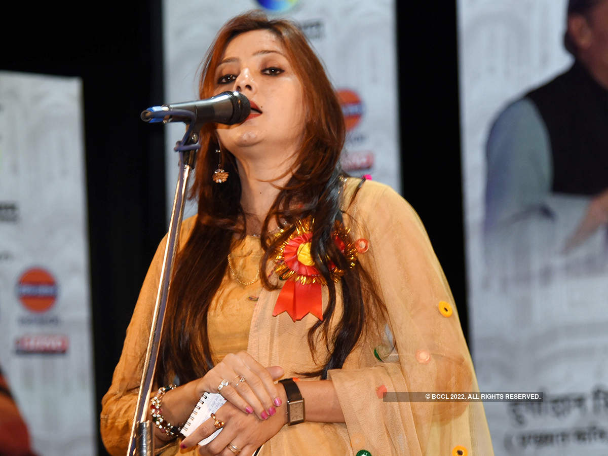 Famous Indian poets participate in 'Rashtriya Kavi Sammelan'