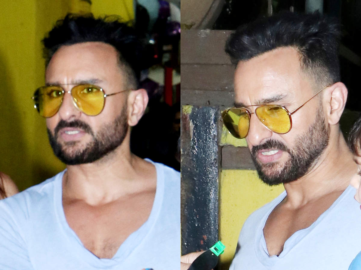 Saif Ali Khan just got a NEW haircut and it makes him look 11