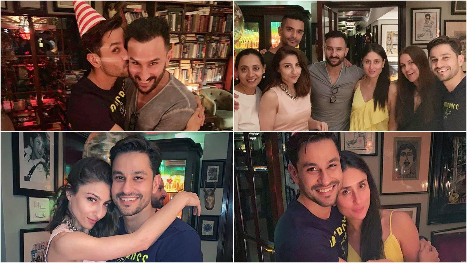 Saif-Kareena hosts Kunal Kemmu's birthday bash, daughter Inaaya does something special for daddy