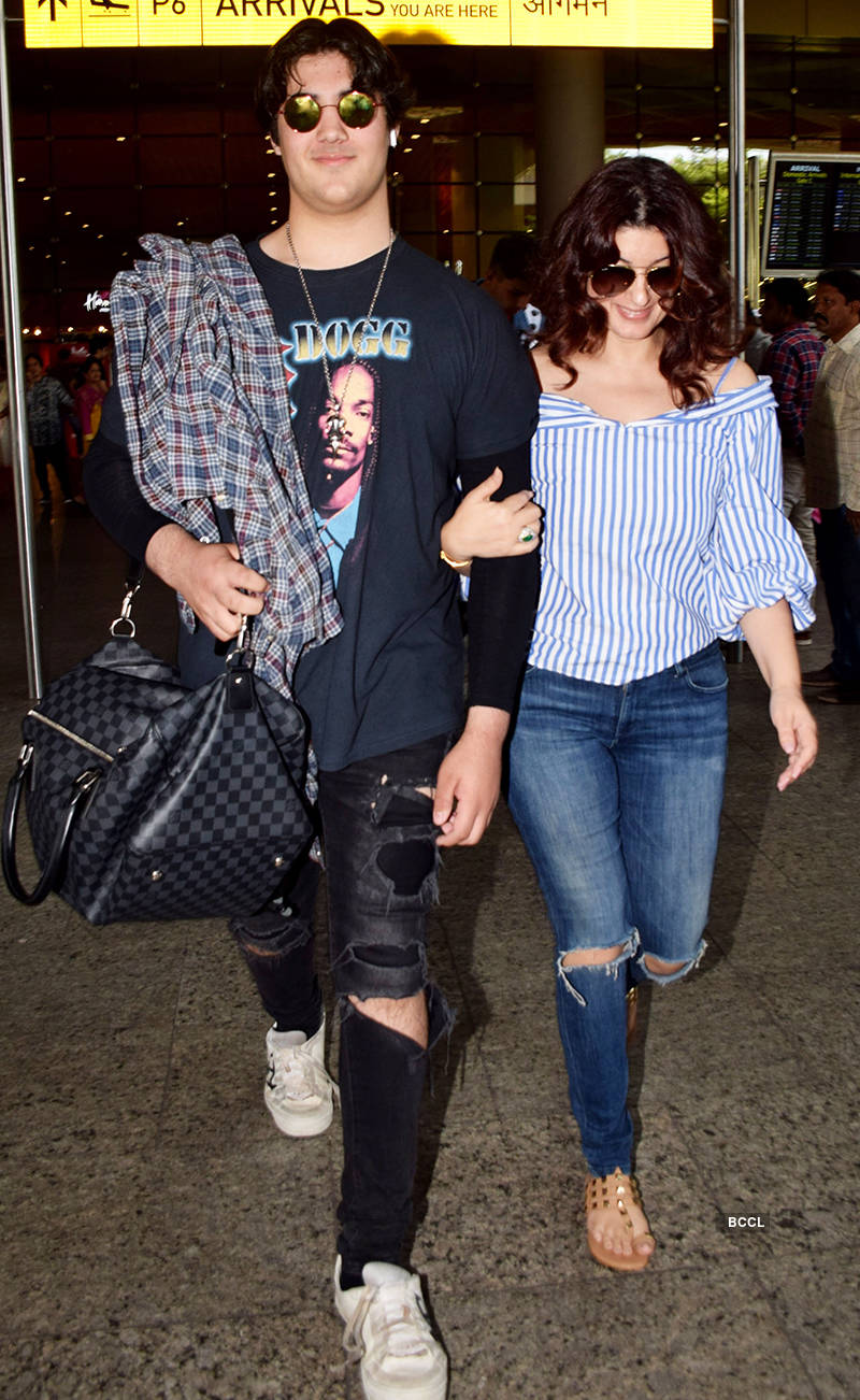 Twinkle Khanna and Aarav Kumar