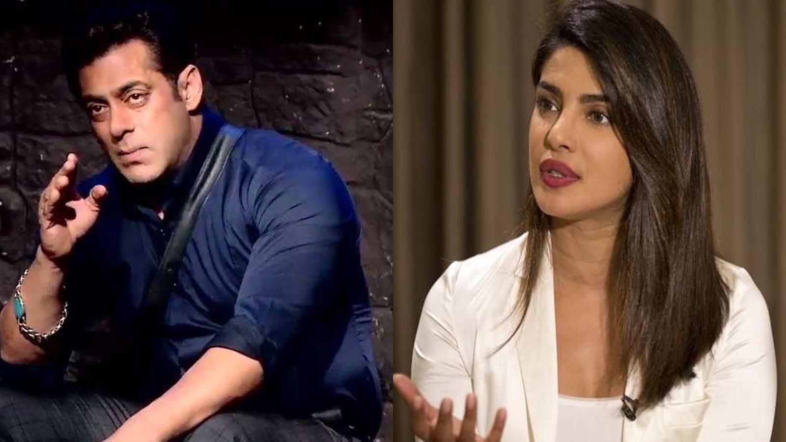 Salman Khan reveals it was Priyanka Chopra who showed interest to work in 'Bharat'