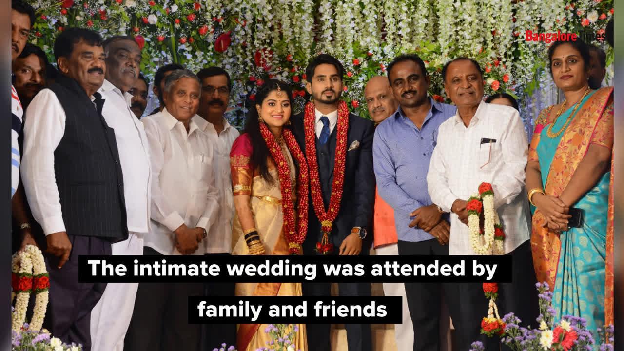 Raksh-Anusha's intimate reception