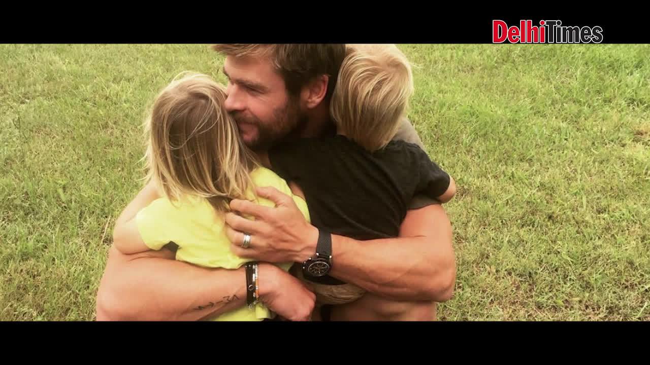 Chris Hemsworth's visit to India