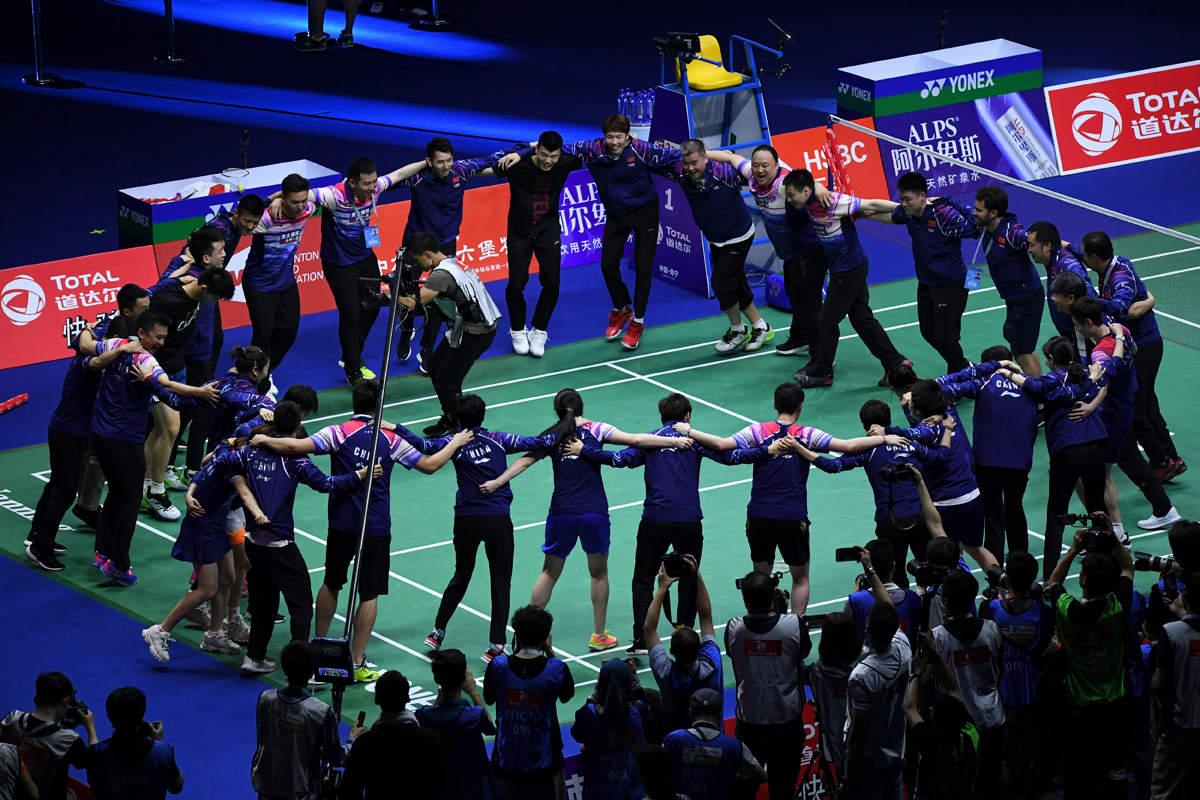 China wins big at Sudirman Cup 2019