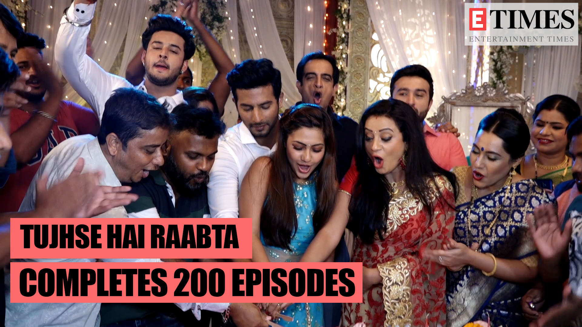 Tujhse Hai Raabta completes 200 episodes, team celebrates their success