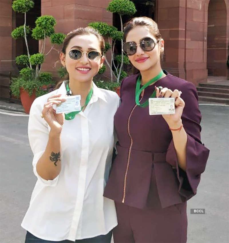 Meet the glamorous new parliamentarians Mimi Chakraborty and Nusrat Jahan