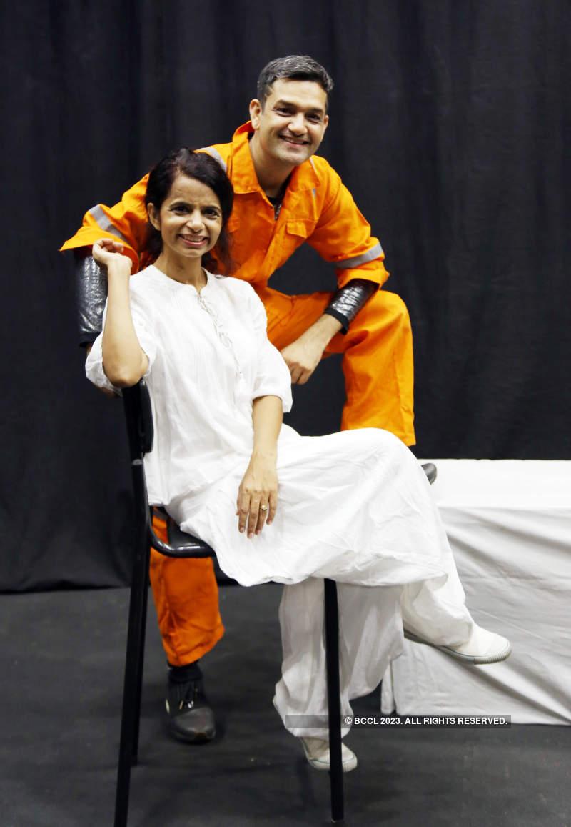 Mayur Puri and Ulka Mayur visit Ahmedabad