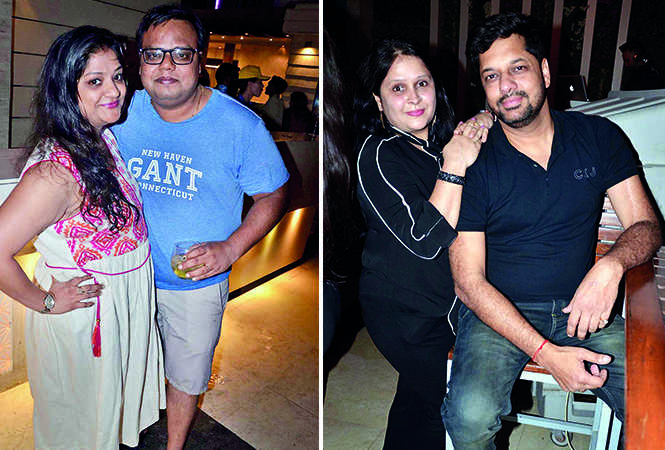 (L) Geeta and Manjul Gupta (R) Gitika Jain, Anoop Jain (BCCL/ IB Singh)