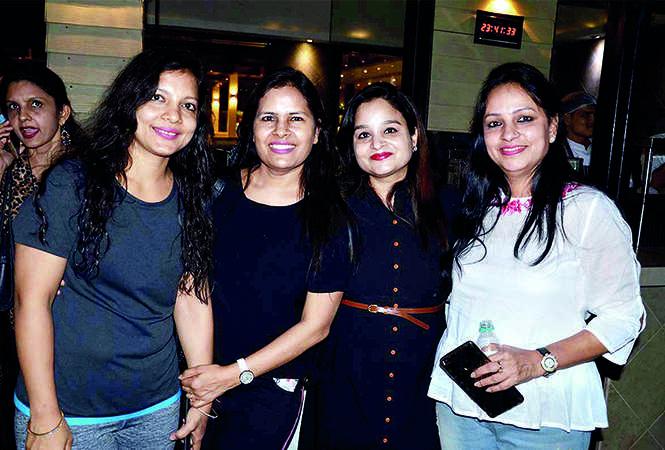 Vineeta Roongta, Rashmi Goyal, Monika Agarwal and Rachna Goyal (BCCL/ IB Singh)