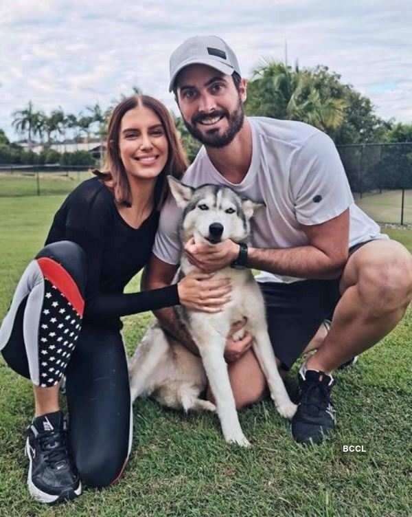 Former Miss World Australia to tie the knot with cricketer Ben Cutting