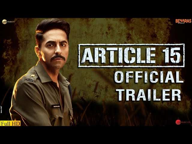Article 15 - Official Trailer