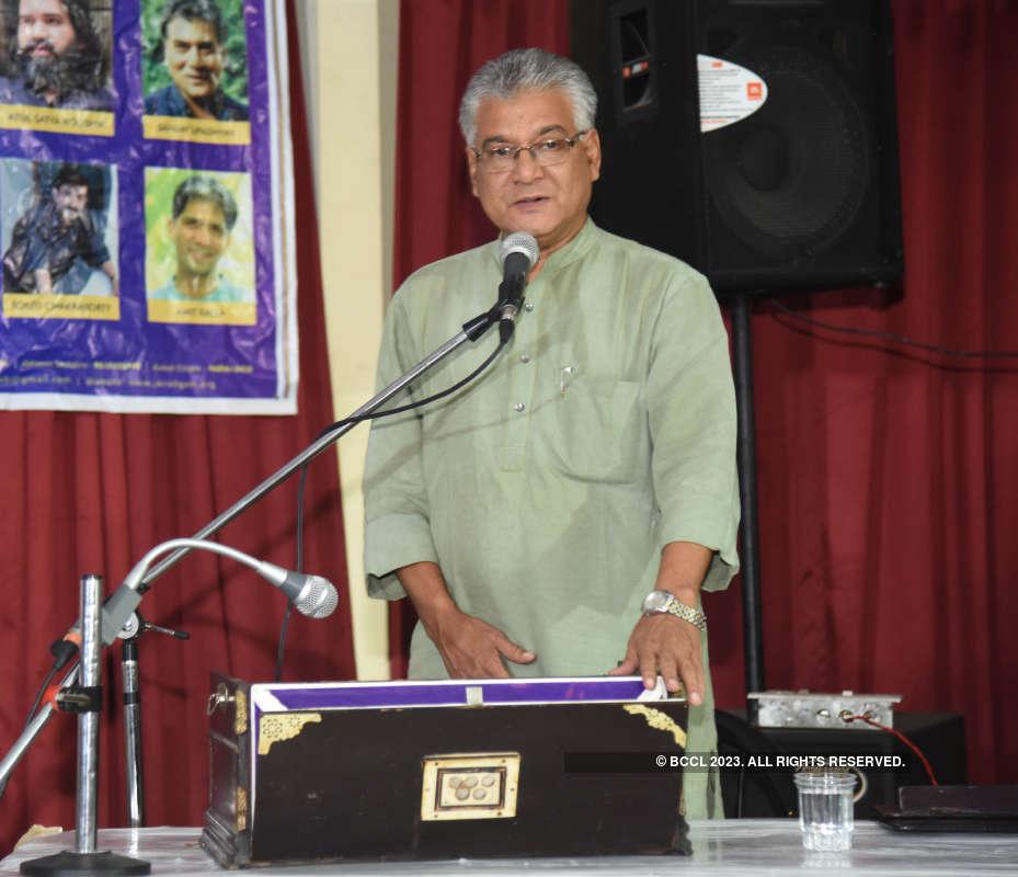 Musicians perform at 'Rang Sangeet'