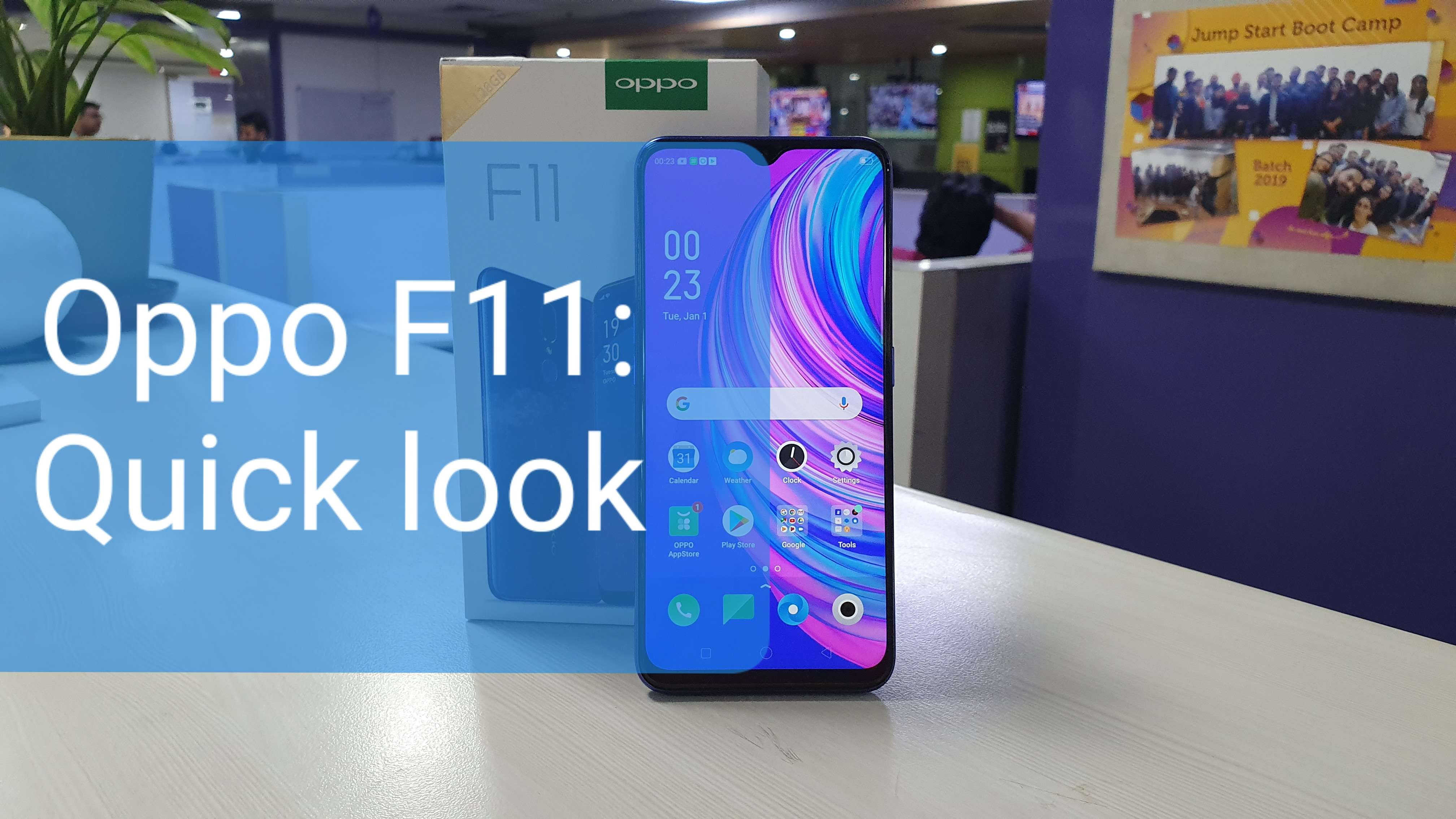 Oppo F11 quick look