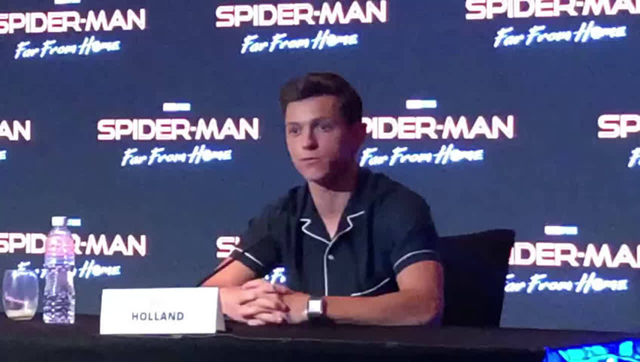 Tom Holland: I understand that when I play Spider-Man I have this responsibility to young fans to be a role model, and I really try to do that'