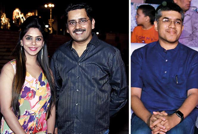 (L) Nidhi Rastogi and Qais Mujeeb (R) Neil Jain (BCCL/ Vishnu Jaiswal)