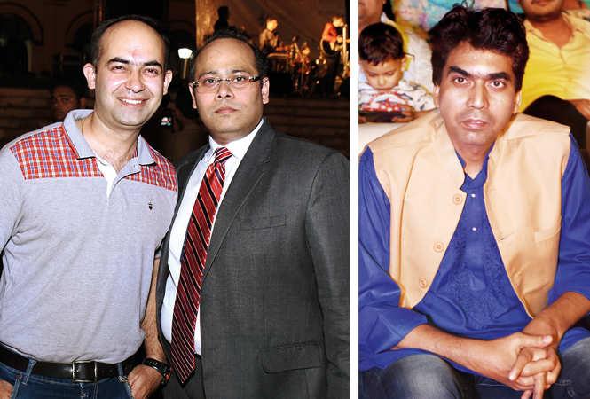 (L) Aditya Sansi and Faseh Ilahi (R) Rakesh Verma (BCCL/ Vishnu Jaiswal)
