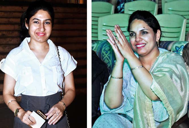 (L) Urvashi (R) Tanya (BCCL/ Vishnu Jaiswal)