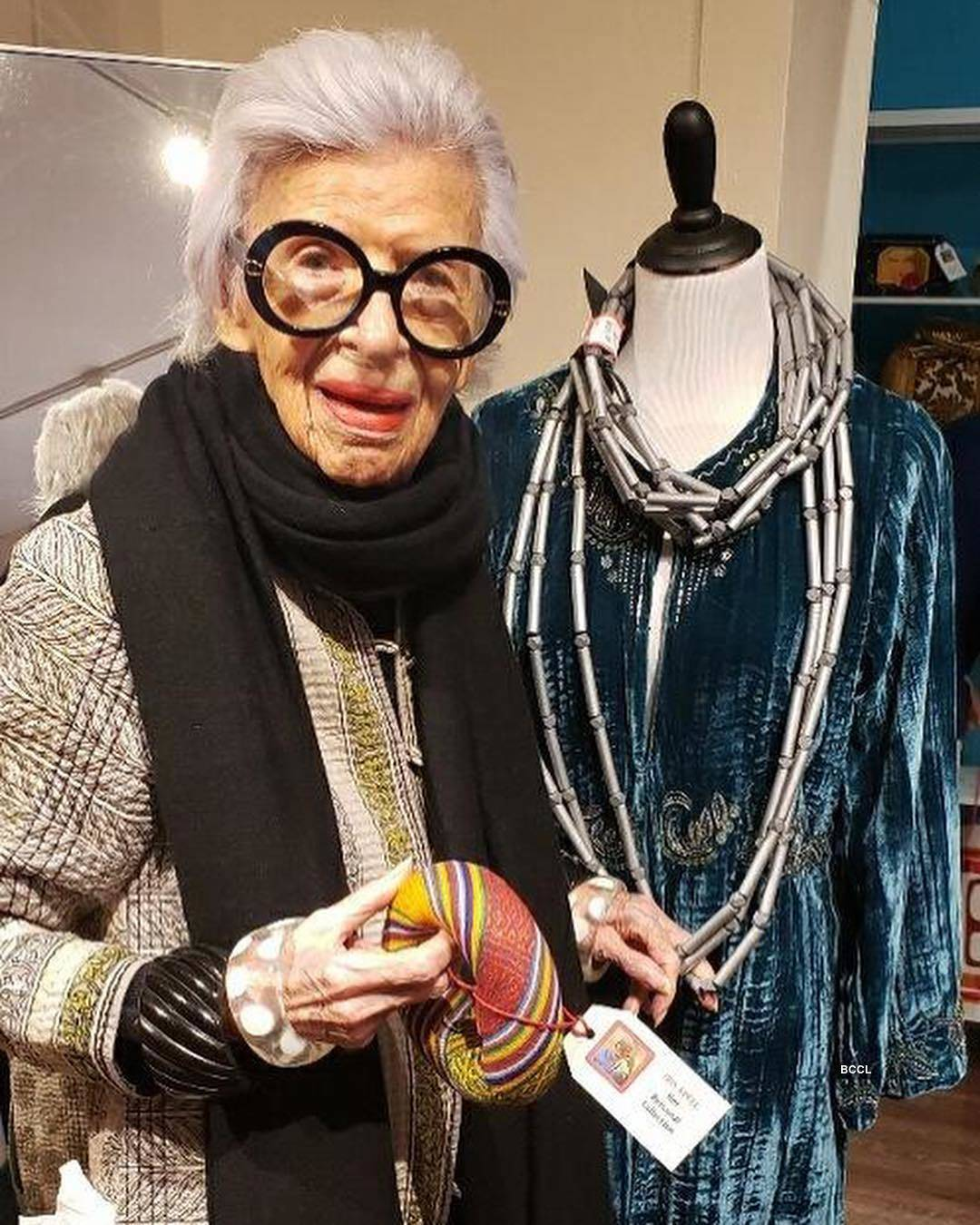 Know more about 97-year-old style icon Iris Apfel