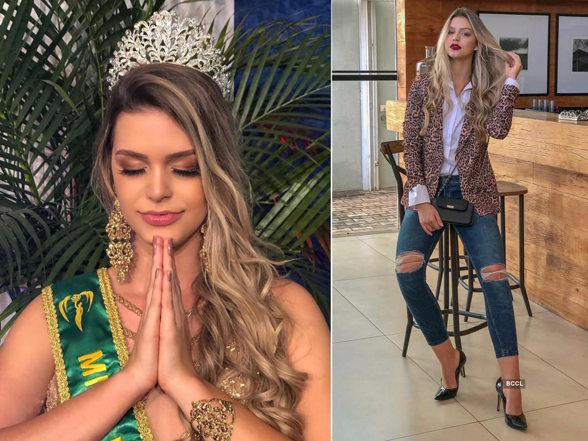 Maria Gabriela Batistela crowned Miss Earth Brazil 2019
