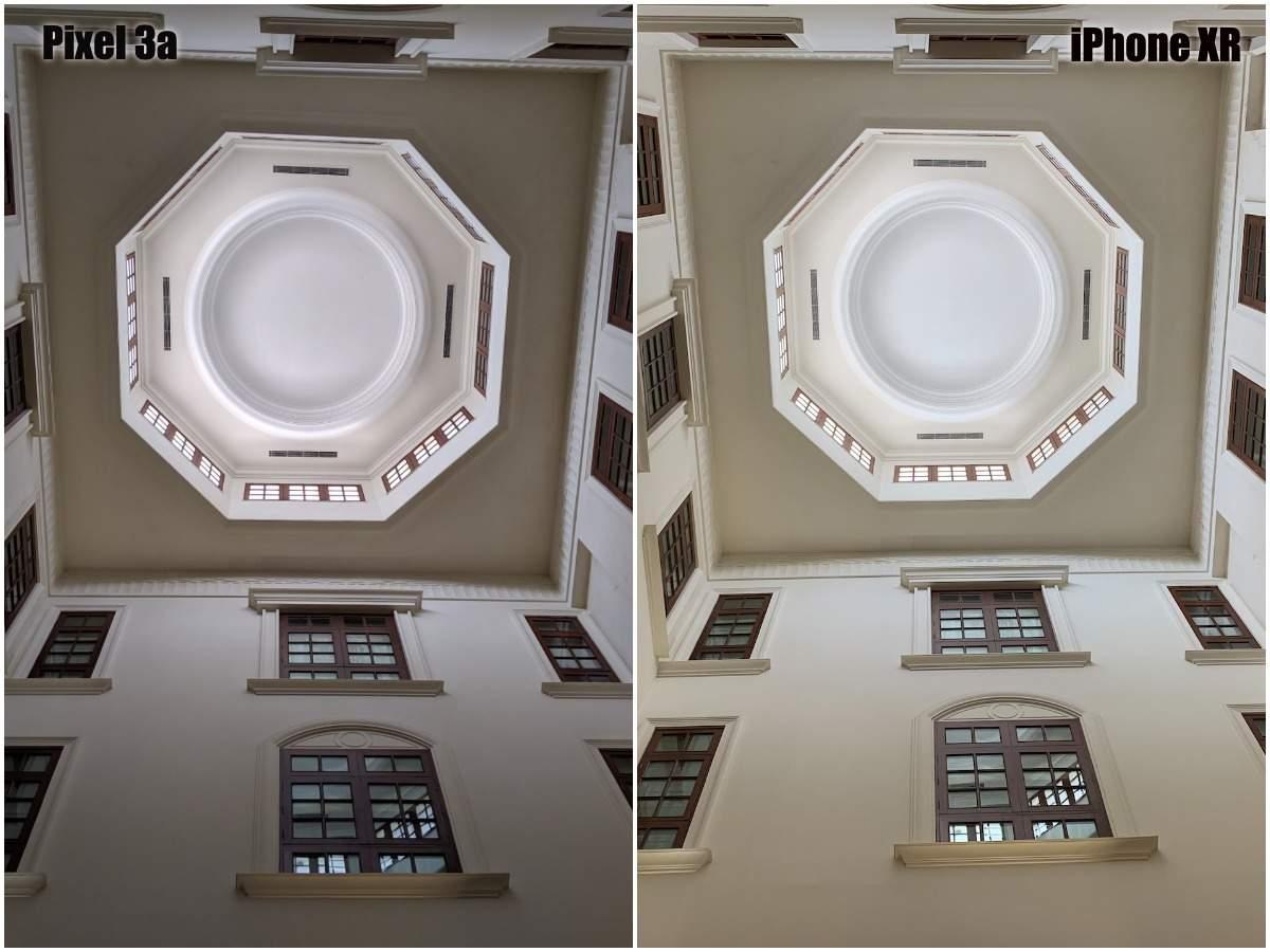 Pixel 3a vs iPhone XR camera: Daylight (indoors)