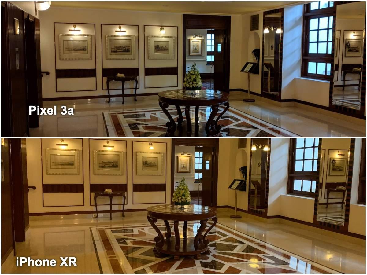 Pixel 3a vs iPhone XR camera: Indoor low lighting