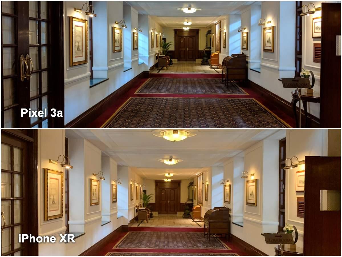 Pixel 3a vs iPhone XR camera: Indoor lighting