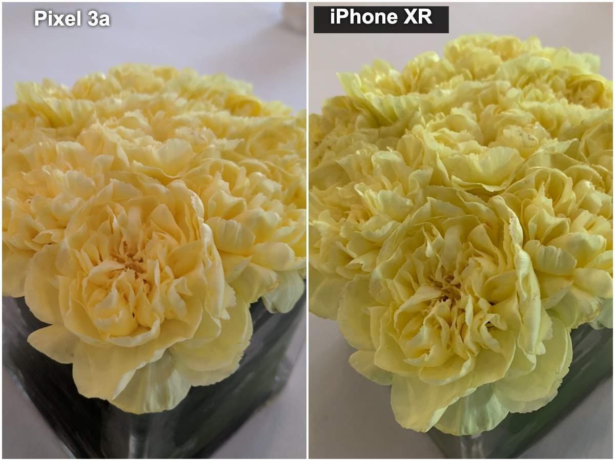 Pixel 3a vs iPhone XR camera: Macro (Indoor regular lighting)