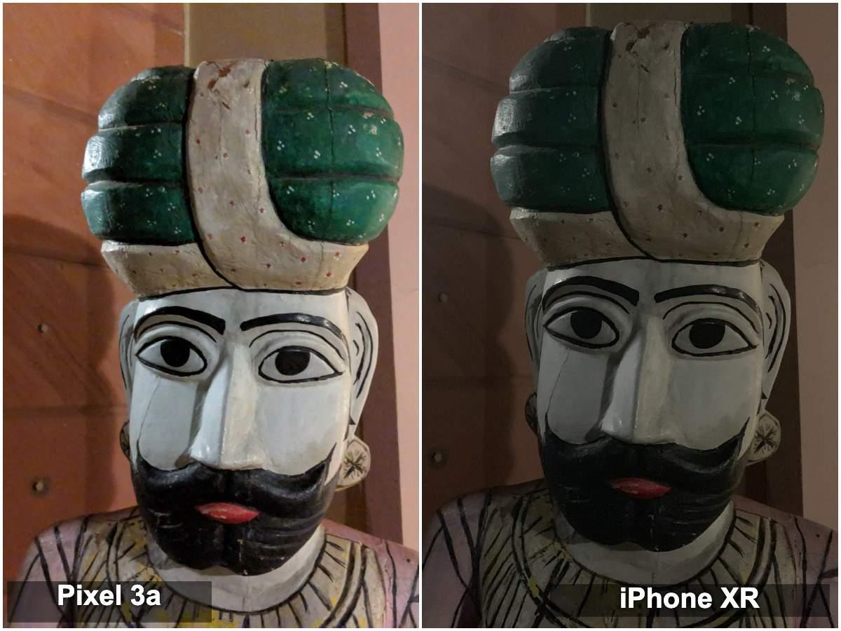 Pixel 3a vs iPhone XR camera: Low light (indoor)