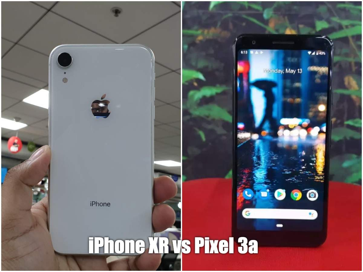 Apple iPhone XR vs Google Pixel 3a: Which smartphone offers a better camera