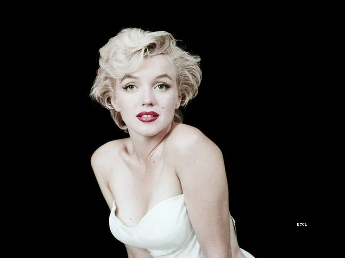 Iconic pictures of sex-symbol Marilyn Monroe
