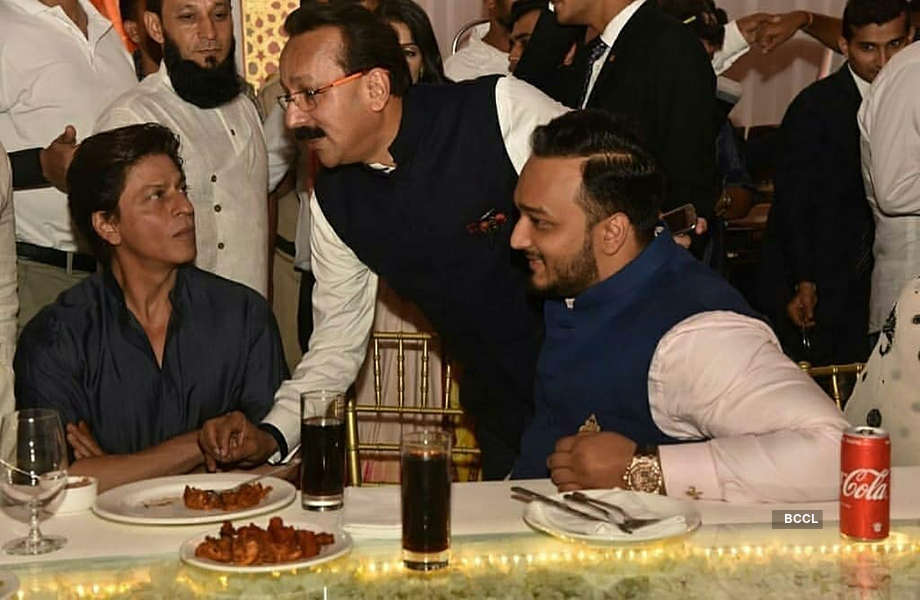 Inside pictures from Baba Siddique's starry Iftar party