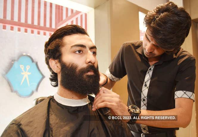 Harshdeep Sharma, a software developer and model, has a kit especially for his beard