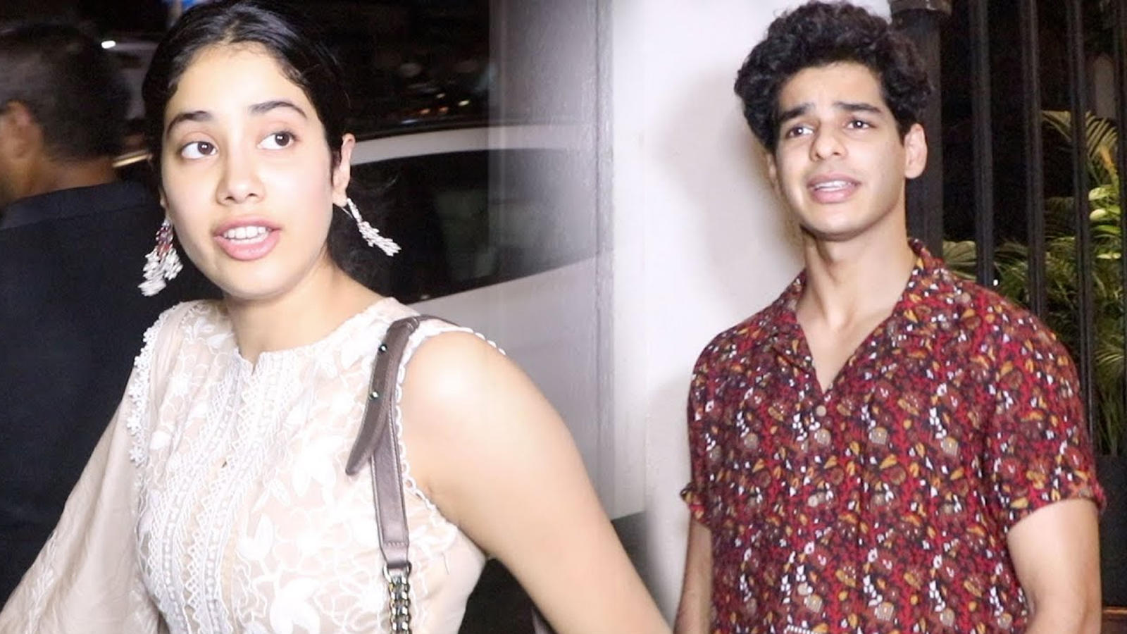 Janhvi Kapoor and Ishaan Khatter refuse to pose together