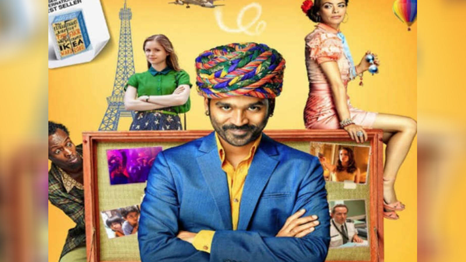 Trailer launch of 'The Extraordinary Journey Of The Fakir'