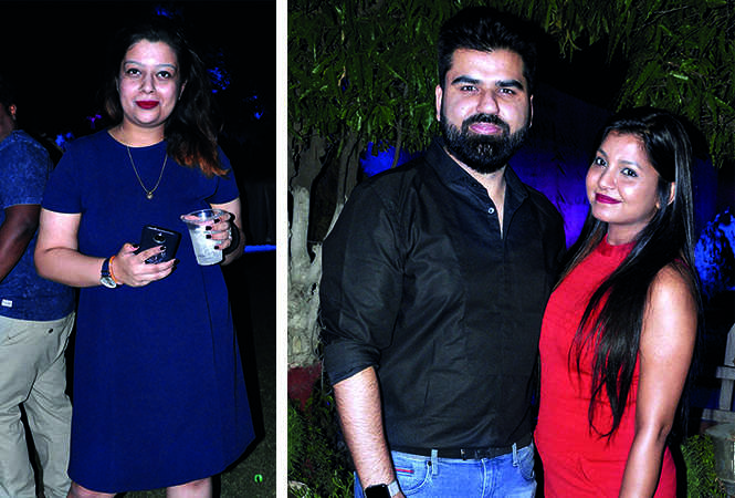 (L) Anshika (R) Ashish Bhatia and Swati Bhatia (BCCL/ AS Rathor)