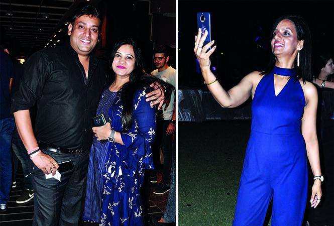 (L) Rishabh and Mandakini Gupta (R) Rashmi Rai (BCCL/ AS Rathor)
