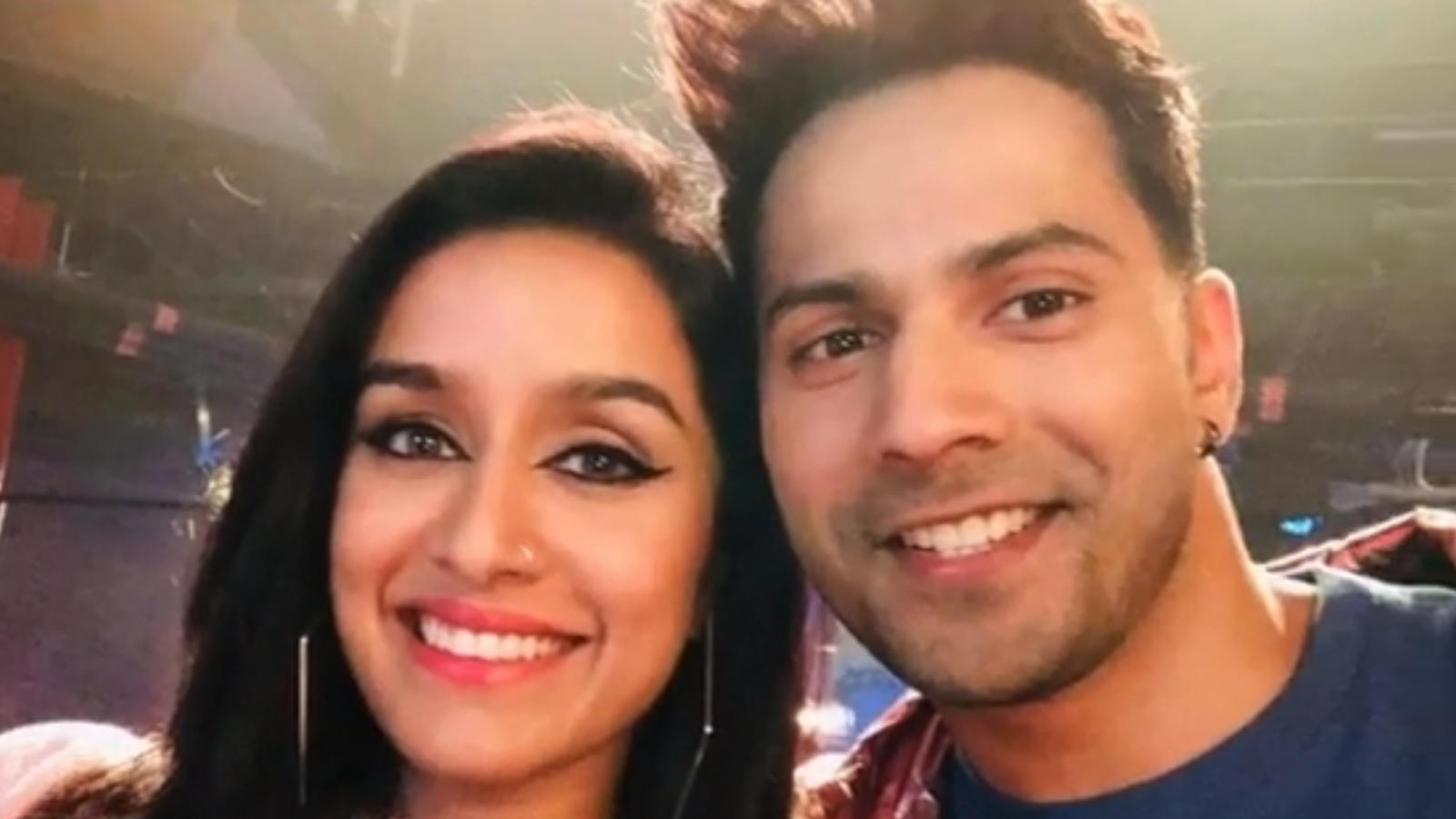 'Street Dancer 3D': Varun Dhawan poses with Shraddha as Dubai schedule wraps up