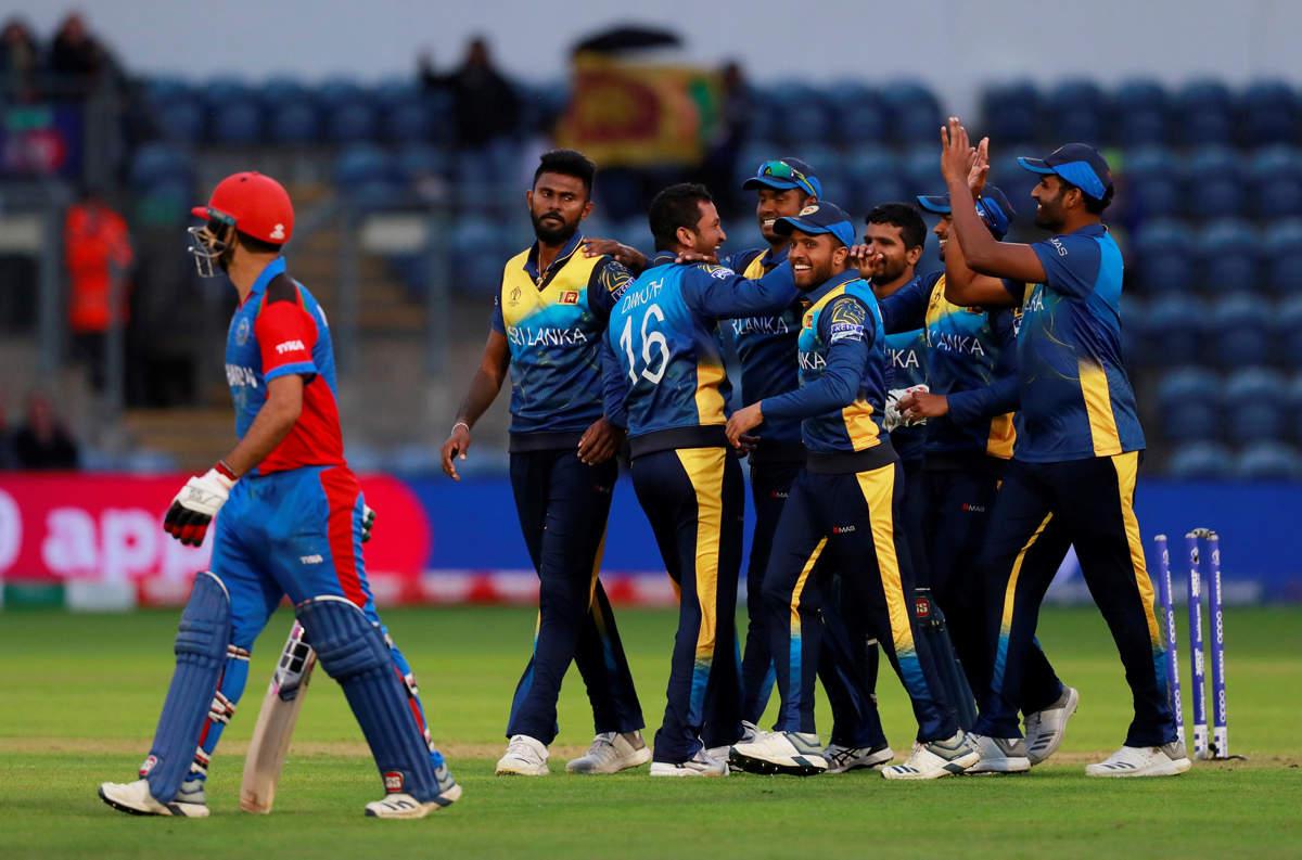 Sri Lanka beat Afghanistan by 34 runs