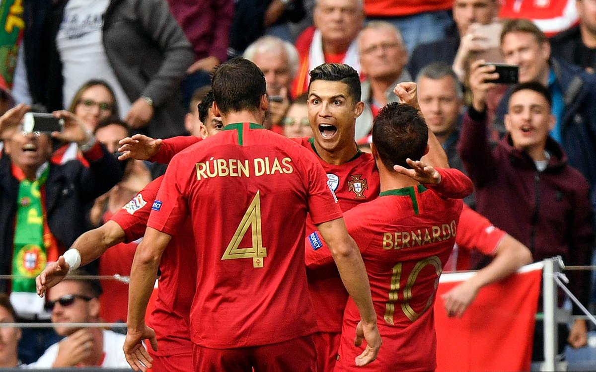 Ronaldo scores hat-trick, Portugal enters UEFA Nations League final