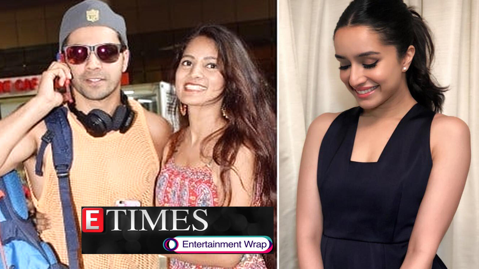 Female fan hugs Varun Dhawan at airport; Shraddha Kapoor on a vacation with rumoured boyfriend, and more