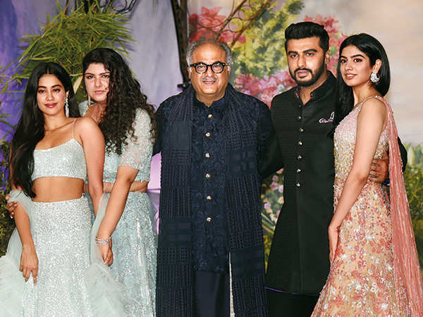 Arjun with his family