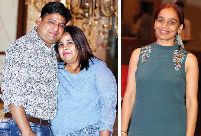 (L) Aditya and Anita (R) Vandita (BCCL/ Aditya Yadav)