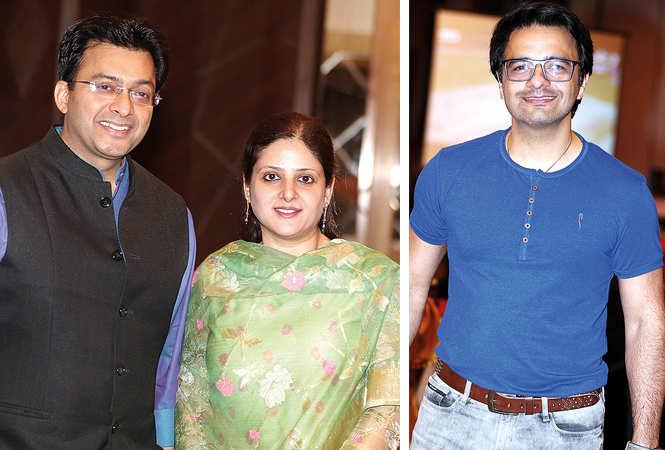 (L) Avichal and Ruchi Kapur (R) Aman Shahpuri (BCCL/ Aditya Yadav)